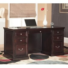 "Fulton 68"" Double Pedestal Executive Desk"
