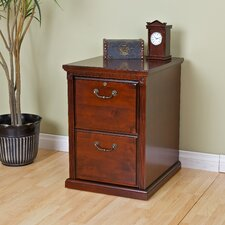Huntington Club Two Drawer File Pedestal