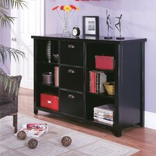 "Tribeca Loft 41"" H Three-Drawer File/Bookcase"