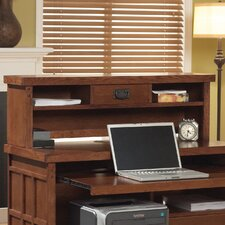 "<strong>kathy ireland Home by Martin Furniture</strong> Mission Pasadena Office 13.25"" H x 42"" W Desk Hutch"