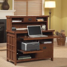 <strong>kathy ireland Home by Martin Furniture</strong> Mission Pasadena Office Collection Internet Credenza