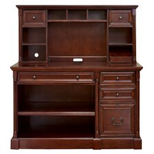 "<strong>kathy ireland Home by Martin Furniture</strong> Mount View Flex 23"" H x 48"" W Desk Hutch"