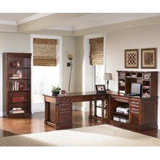 Mount View Flex L-Shape Desk Office Suite
