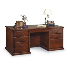Huntington Oxford Executive 7-Drawer Desk