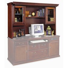 Huntington Club Hutch Top with Pullout Light Bridge for 68""