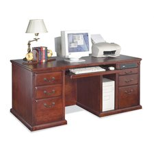 68.25 Double Pedestal Computer Desk
