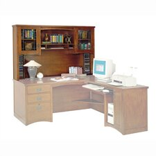 <strong>kathy ireland Home by Martin Furniture</strong> California Bungalow Hutch for 68""
