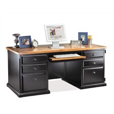 <strong>kathy ireland Home by Martin Furniture</strong> Southampton Onyx Computer Desk