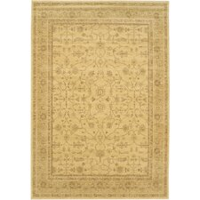 <strong>eCarpet Gallery</strong> Summer Golden Lotus Open Field Rug