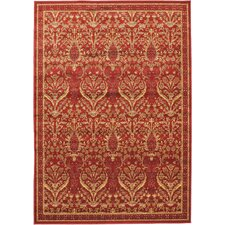 <strong>eCarpet Gallery</strong> Summer Ruby Garden Open Field Rug