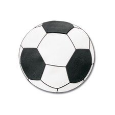 Non-Adhesive Soccerball Embellishment