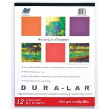 <strong>Grafix</strong> Wet Media Duralar Film Sheets (Set of 12)