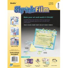 <strong>Grafix</strong> Craft Shrink Film Sheets (Set of 6)