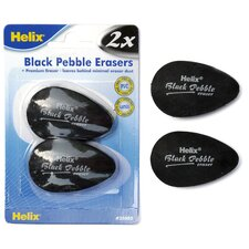 Pebble Eraser (Set of 2)