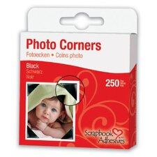 Mylar Photo Corner Adhesives