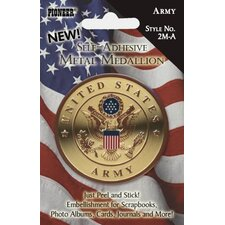 Self Adhesive Military Medallion