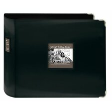 <strong>Pioneer</strong> XL D Ring Leatherette Scrapbook Binder