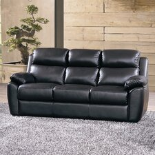 Kansas Bonded Leather 3 Seater Sofa