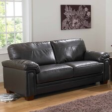 Memphis Bonded Leather 3 Seater Sofa