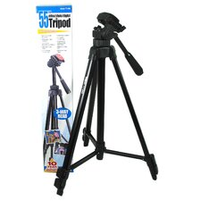 "Aluminum Tripod (Extends to 55""-66"")"