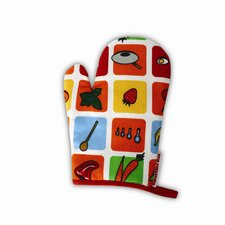 Eat Your Fruits and Veggies Oven Mitt