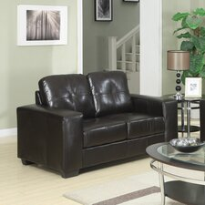 Rose Bonded Leather 2 Seater Modular Sofa