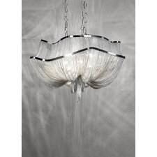 Atlantis 2 Tier 8 Light Crystal Chandelier