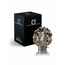 "Orten'Zia Rechargeable 5.1"" H Table Lamp with Sphere Shade"