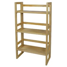 3 Tier Folding Bookcase