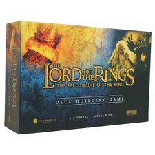 <strong>Cryptozoic</strong> The Lord of the Rings The Fellowship of the Ring Deck-Building Board Game