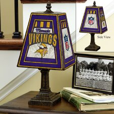 NFL Art Glass Table Lamp