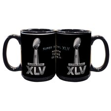 2011 Super Bowl Logo 15 oz. Coffee Mug