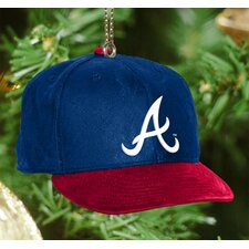 MLB Baseball Cap Ornament