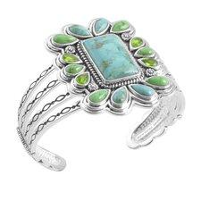 Legacy Gemstone Cuff Bracelet