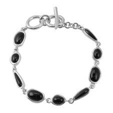 Basic Onyx Bead Bracelet