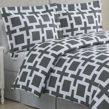 <strong>Echelon Home</strong> Links Duvet Cover Set