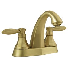 Double Handle Centerset Bathroom Faucet