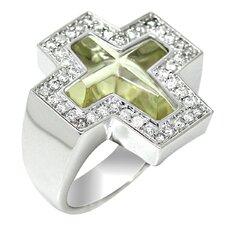 Genuine White Gold Ring