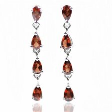 Eight Pear Gemstone Earring