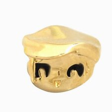 Goldplated Sterling Silver Enamel Happy Girl Charm Bead