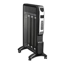Micathermic Space Heater with Adjustable Thermostat