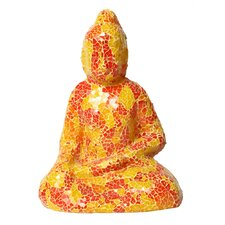 Mosaic Small Sitting Buddha Figurine