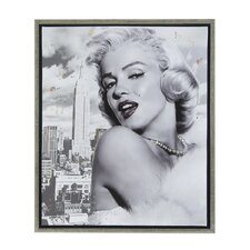 Marilyn and the Big Apple Framed Graphic Art