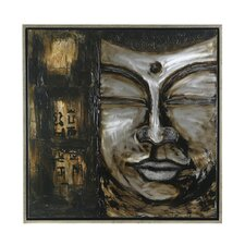Bali Buddha Framed Painting Print