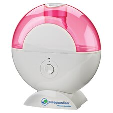<strong>pureguardian</strong> 12-Hour Ultrasonic Humidifier with Decorative Decals