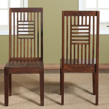 Palindrome Slat Back Side Chair