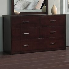 <strong>Modus Furniture</strong> Modera 6 Drawer Dresser