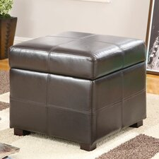 <strong>Modus Furniture</strong> Urban Seating Leatherette Cube Ottoman