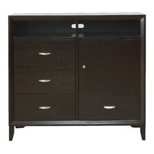 Penthouse 4 Drawer Combo Dresser