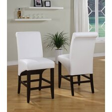 Cosmo Sleigh Back Counter Stool (Set of 2)
